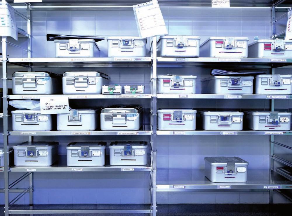 Control de existencias y materiales en almacenes de instituciones y centros sanitarios