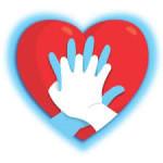 Compañeros participando en las jornadas del Día Europeo de la actuación ante la parada cardiorrespiratoria.