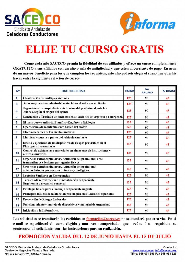 CARTEL CURSO GRATUITO