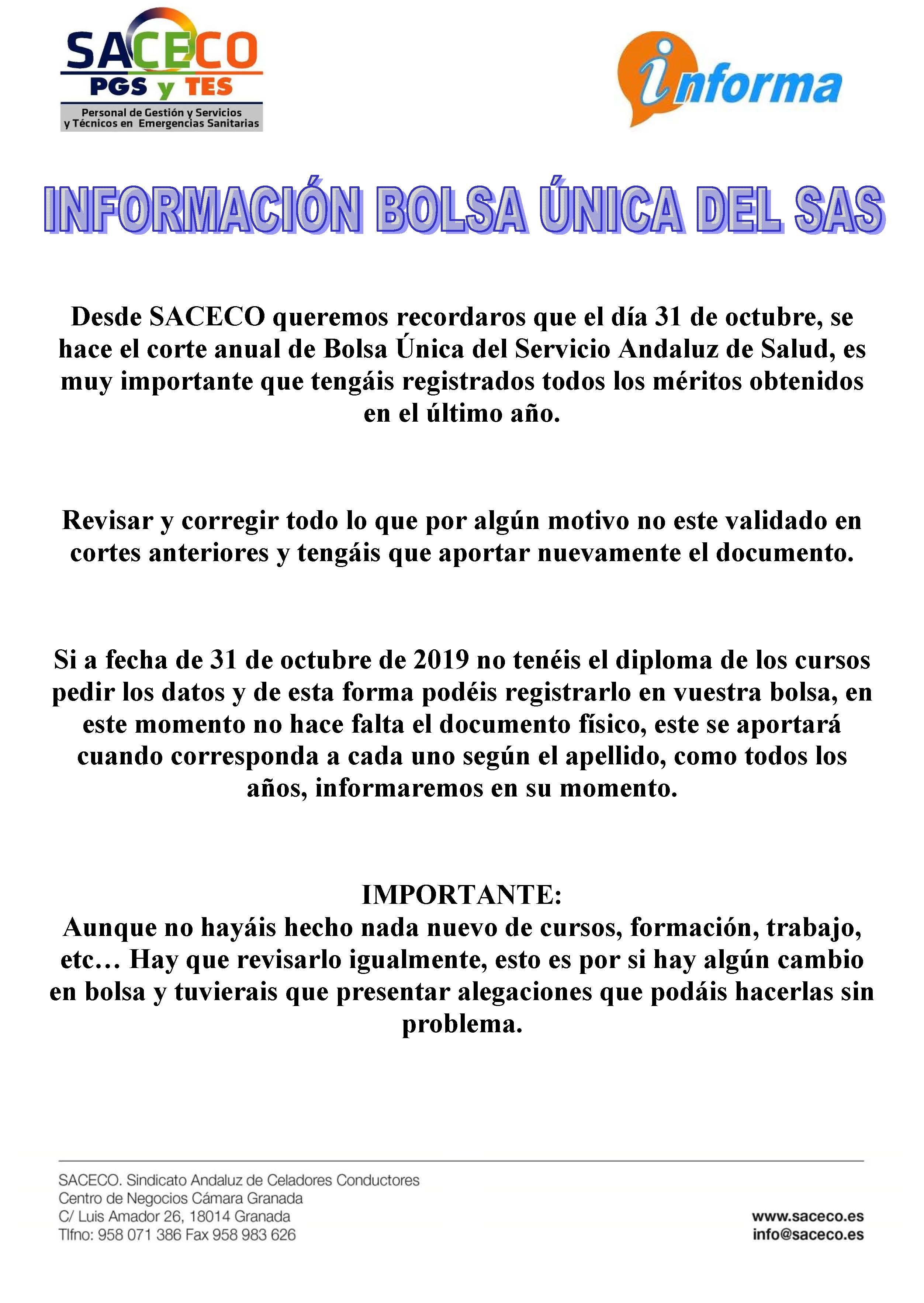 INFORMACIÓN BOLSA SAS