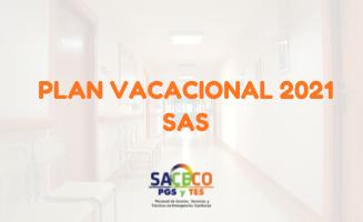 Plan de vacaciones 2021 del SAS a través de la Bolsa Única de Empleo