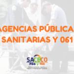 OFERTA DE PLAZAS PARA LA OPOSICIÓN DE LAS AGENCIAS PÚBLICAS SANITARIAS Y 061
